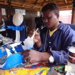 Fan-Hut-Herstellung