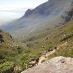 Aufstieg Tafelberg